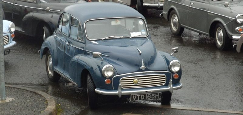 A Path Into Madness - Morris Minor Owners Club Northern Ireland