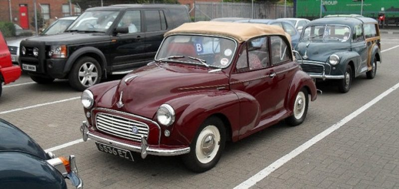Kenny McIlroy - A Love for Morris Minors - Morris Minor Owners Club Northern Ireland