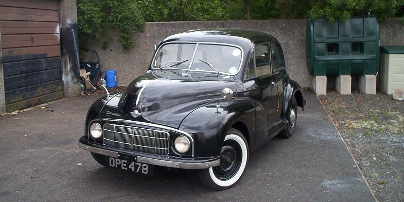David McCullough's 1950 Lowlight Saloon - Morris Minor Owners Club Northern Ireland