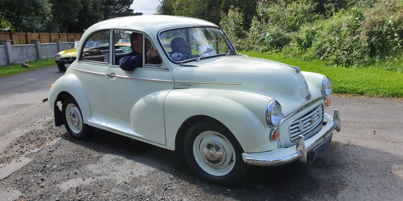 Trevor Mitchell's Minoring Experiences - Morris Minor Owners Club Northern Ireland