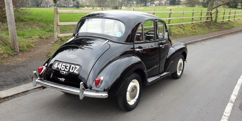 An Early 1000 Reboot - Andrew Elwood - Morris Minor Owners Club Northern Ireland