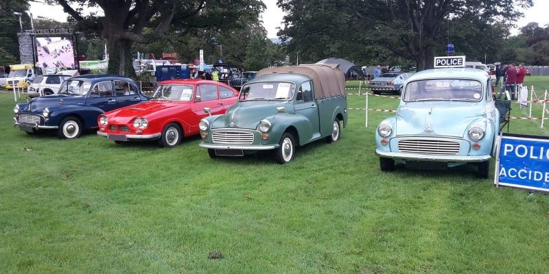 Kilbroney Vintage Show September 2019 - Morris Minor Owners Club Northern Ireland