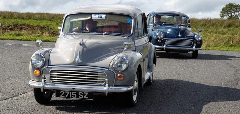 Andrew Elwood's Minors - Morris Minor Owners Club Northern Ireland
