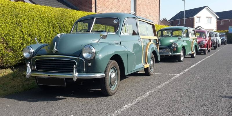 Easter Monday Run April 2019 - Morris Minor Owners Club Northern Ireland