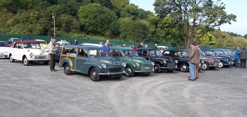 End of Season Run October 2015 - Morris Minor Owners Club Northern Ireland