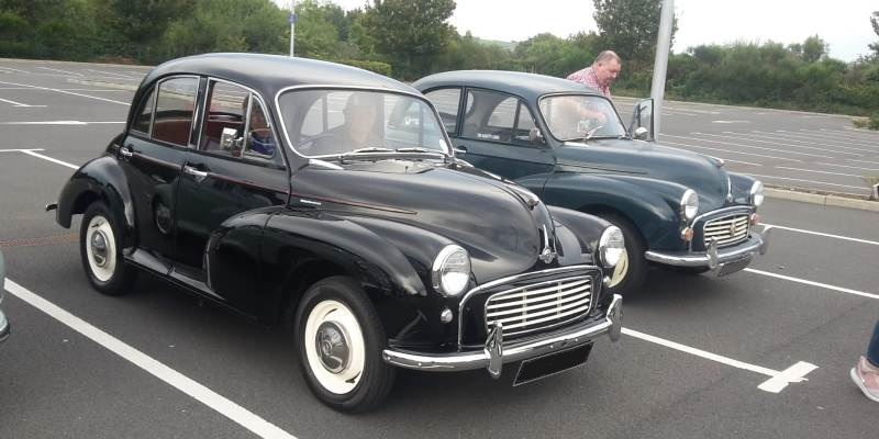 Fish and Chip Run September 2019 - Morris Minor Owners Club Northern Ireland