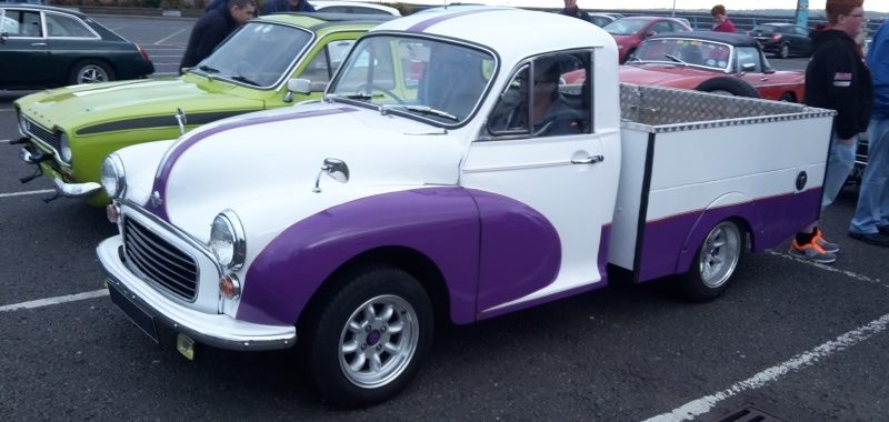 Ice Cream Run September 2015 - Morris Minor Owners Club Northern Ireland