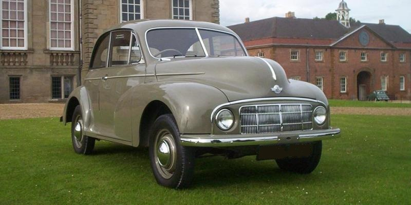 Morris Minor History Slide Show - Morris Minor Owners Club Northern Ireland