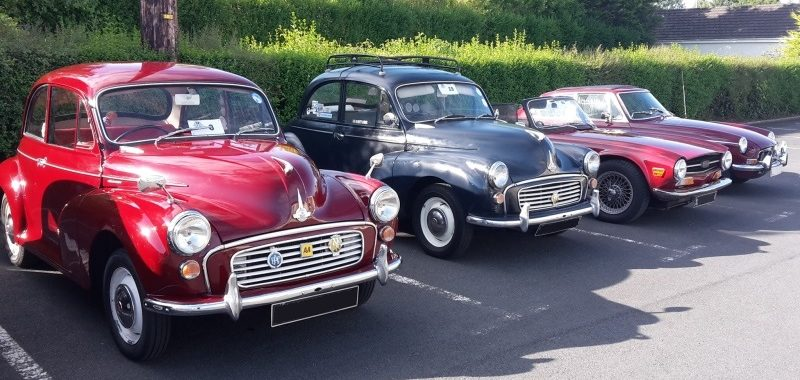 Regional Rally August 2015 - Morris Minor Owners Club Northern Ireland