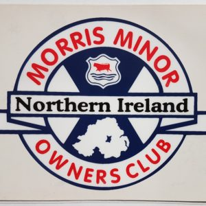 MMOC-NI Windscreen Sticker